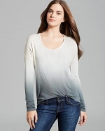 Ombre tee in grey by Red Haute at Bloomingdales