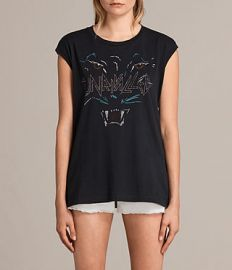Onca Brooke Tee at All Saints