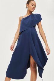 One Shoulder Midaxi Dress at Topshop