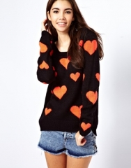 Only Heart Sweater at Asos