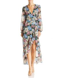 Only You High/Low Floral Wrap Dress at Bloomingdales