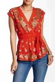 Ooh La La Embroidered Blouse at Nordstrom Rack