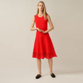 Open Knit Dress at Maje