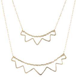 Open Sunburst Necklace at Peggy Li
