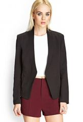 Open blazer at Forever 21