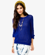 Open knit sweater at Forever 21 at Forever 21