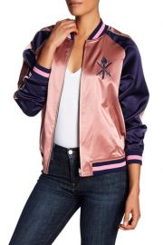 Opening Ceremony Reversible Silk Graphic Bomber Jacket at Nordstrom Rack