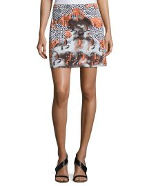 Opening Ceremony Western Mini Cotton Skirt at Neiman Marcus