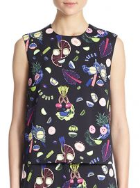 Opening Ceremony - Fruit Face Sleeveless Top at Saks Fifth Avenue