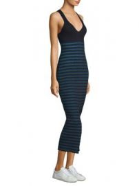 Opening Ceremony - Striped Ribbed Knit Dress at Saks Fifth Avenue