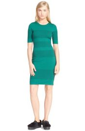 Opening Ceremony French Knot Sheath Dress in Fern at Nordstrom