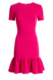 Opening Ceremony Fuchsia Flutter Dress at Rent The Runway
