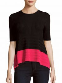 Opening Ceremony Linear Delta Colorblock Top at Saks Off 5th
