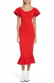 Opening Ceremony Lotus Jacquard Medallion Dress at Nordstrom