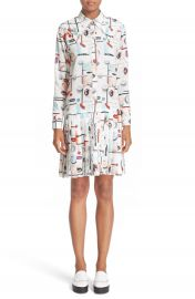 Opening Ceremony Print Shirtdress at Nordstrom