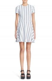Opening Ceremony Stripe Fit   Flare Dress at Nordstrom