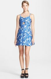 Opening Ceremony and39Pelagic Painted Leavesand39 Bandeau Dress at Nordstrom