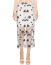 Ophelia Lace Midi Skirt by Alice  Olivia at Yoox