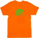 Orange Space Invader Tee at TV Store Online