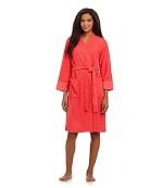 Orange bathrobe at Dillards at Dillards