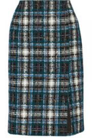 Oscar de la Renta Tweed Skirt at Net A Porter