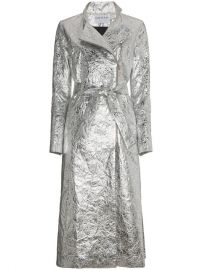 Osman Metallic Joplin Trench Coat  1 108 - Buy SS18 Online - Fast Global Delivery  Price at Farfetch