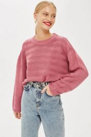 Ottoman Cropped Jumper at Topshop