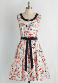 Oui Are the World Dress at ModCloth