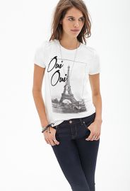 Oui Oui Knit Tee  Forever 21 - 2000120907 at Forever 21