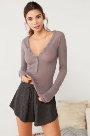 Out From Under Everyday Henley Top at Urban Outfitters