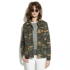Outbound Jacket in Vintage Dyed Camo at Madewell