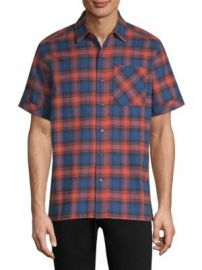 Ovadia   Sons - Camp Cotton Button-Down Shirt at Saks Fifth Avenue