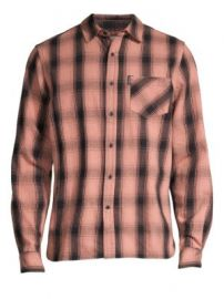 Ovadia   Sons - Max Plaid Cotton Shirt at Saks Fifth Avenue