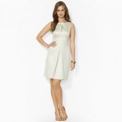 Oval Printed Dress at Ralph Lauren