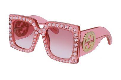 Oversize square-Frame Acetate Sunglasses  Gucci at Gucci