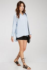 Oversized Collared Shirt  Forever 21 - 2000079564 at Forever 21