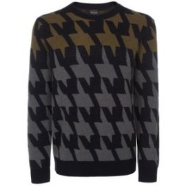 Oversized Houndstooth Sweater at Paul Smith