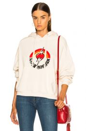 Oversized Love Struck Graphic Hoodie at Forward