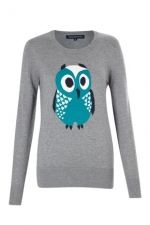Owl sweater from French Connection at Frenchconnection