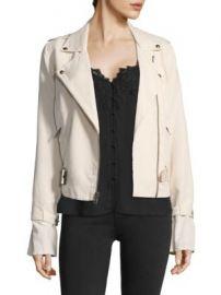 PAIGE - Rhoda Twill Moto Jacket at Saks Fifth Avenue
