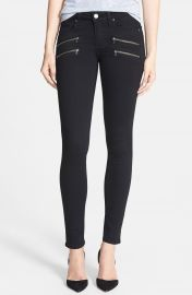 PAIGE  Transcend - Edgemont  Ultra Skinny Jeans  Black Shadow at Nordstrom