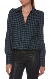 PAIGE Enid Check Shirt at Nordstrom