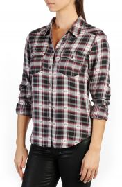 PAIGE Mya Plaid Shirt at Nordstrom