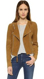 PAIGE Tiana Suede Jacket at Shopbop