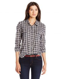 PAIGE Women s Trudy Shirt-Dark Ink Blue Rose Dust at Amazon