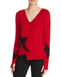 PAM  amp  GELA Star Intarsia Sweater at Bloomingdales