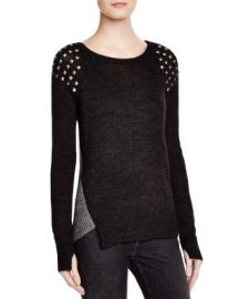 PAM GELA Studded Sweater at Bloomingdales