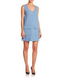 PAROSH - Lakix Shift Dress at Saks Fifth Avenue