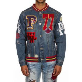 PCU Jean Jacket by Play Cloths at ECTrendSetters