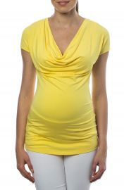 PIETRO BRUNELLI Ginestra Cowl Neck MaternityNursing Tunic at Nordstrom